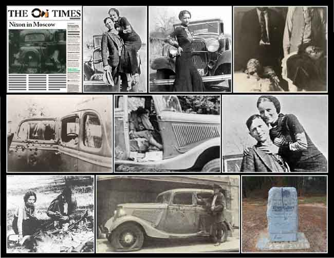 Image result for bonnie and clyde killed